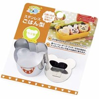 Stainless Bear Rice Mold
