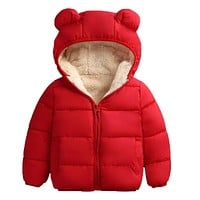 Winter Hooded Jackets For Kids