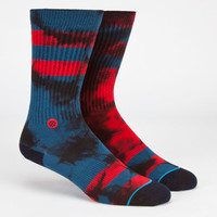 Stance Invert Mens Crew Socks Red  In Sizes L/Xl For Men 23076330004