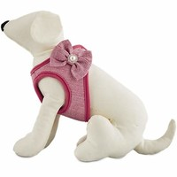 Bond & Co. Pink Bow Small Dog Harness | Petco