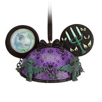 disney parks haunted mansion ear hat ornament new with tag