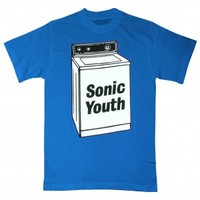 Sonic Youth t-shirt - Washing Machine - Cool, Funny, Humorous, Vintage and Retro TShirts