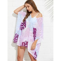 Palm Print Cover Up