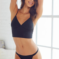 Out From Under Triangle Cropped Top | Urban Outfitters