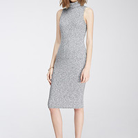 Marled Midi Turtleneck Dress