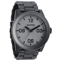 Nixon The Corporal Ss Watch Matte Black/Matte Gunmeta One Size For Men 20625311201