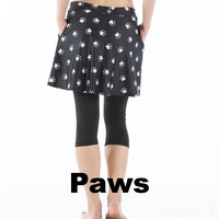**Clearance Rosie Skirt with Crop Pants
