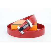 Hermes belt men's and women's casual casual style H letter fashion belt458