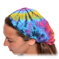 Expandable Tie Dye Headband Assorted on Sale for $9.99 at The Hippie Shop