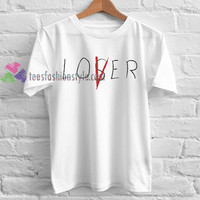IT Movie Losers' Club 'Lover' Cast T-Shirt gift tees cool tee shirts