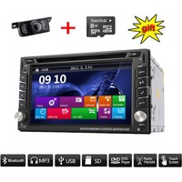 NEW arrival! Bluetooth Car Electronic 2din Car DVD CD Player GPS Navigation car stereo