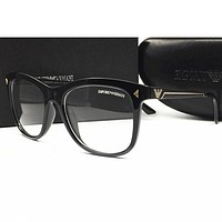 Armani Men Edgy Optical Clear Lens Fashion Brand Designer Eyeglasses Glasses
