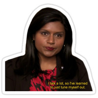'Kelly Kapoor' Sticker by TellAVision