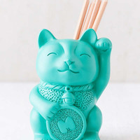Lucky Cat Pencil Cup | Urban Outfitters