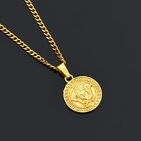 Gift Shiny Jewelry Stylish New Arrival Alloy Necklace [10768843331]