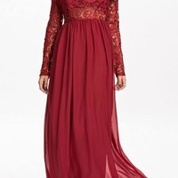 Karla Chiffon Maxi Dress