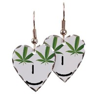 Pot Head Emote Earring> The Pot Head Emote> 420 Gear Stop