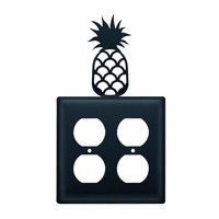 Pineapple - Double Outlet Cover