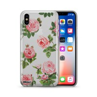 Pink Roses - Clear TPU Case Cover