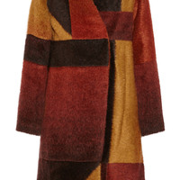 Thakoon - Patchwork knitted coat