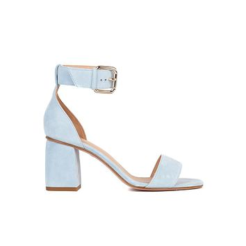 Red Valentino Womens Sky Blue Sandals