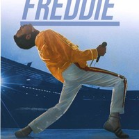 Queen Freddie Mercury Live at Wembley Poster 22x34