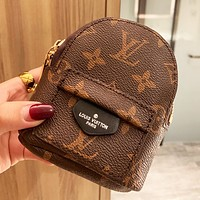 Louis Vuitton LV Super Mini New Clutch Bag Wallet Lipstick Purse Wrist Bag