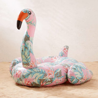 Floral Flamingo Pool Float - Urban Outfitters