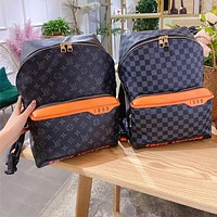 LV New fashion casual large capacity backpack travel bag ladies