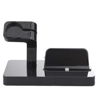 NI5L 2 in 1 Phone Stand Charging Holder For Apple Watch iWatch Smartphones Charging Dock Stand Bracket Accessories iPhone Holder