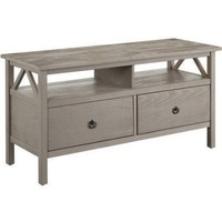 """Linon Titian Rustic Gray TV Stand for TVs up to 40"""" - Walmart.com"""