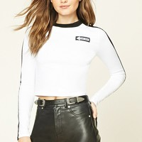 That Way Graphic Cropped Tee