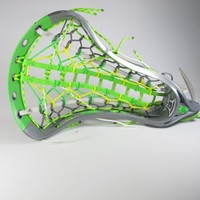"""Featured """"Mellow Lime"""" Limited Edition Dynasty Elite Complete Head   Lacrosse Unlimited"""