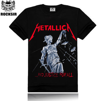 Metallica  And Justice for All.. Album Cover Tee Shirt
