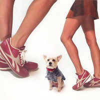 Vintage 80s Reebok Burgandy Ruby Leather And Suede Reebok Trainers Sneakers Athletic Running Shoes || Ladies Size 7.5