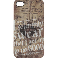 Harry Potter Solemnly Swear iPhone 4/4S Case