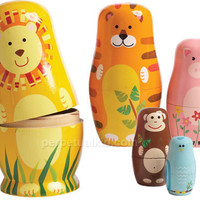 ANI-MATES ANIMAL NESTING DOLLS