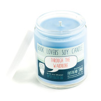 Through the Wardrobe   -- Book Lovers' Scented Soy Candle -- 8oz jar
