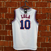 Lola Bunny Space Jam Tune Squad Basketball Jersey
