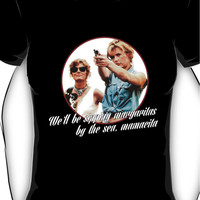 Thelma And Louise Margaritas by the sea Women's T-Shirt