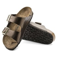 DCCK3 Birkenstock Arizona Birko Flor Graceful Toffee 1009919/1009918 Sandals