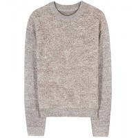 by malene birger - kinno metallic-knit pullover