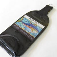 Mystic Big Fish Zinfandel 2013 Wine Bottle Cheese Platter