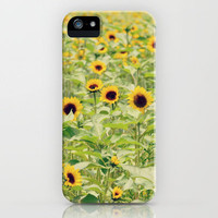 Sunflowers iPhone Case by RDelean | Society6