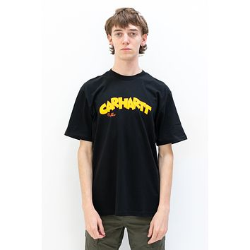 Loony Script T-Shirt in Black
