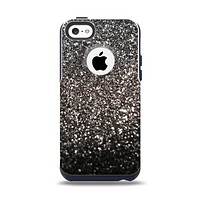 The Black Unfocused Sparkle Apple iPhone 5c Otterbox Commuter Case Skin Set