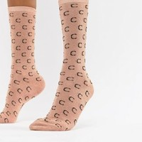 Custommade Signature C Ankle Socks in Metallic at asos.com