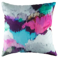 "18"" x 18"" Watercolor Pillow Cover 