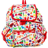 The Lesportsac x Dylan's Candy Bar Candy Spill Voyager Backpack