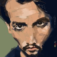 """Johnny"" - Art Print by Stefano Trucco"